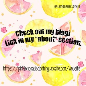 Check out my blog!